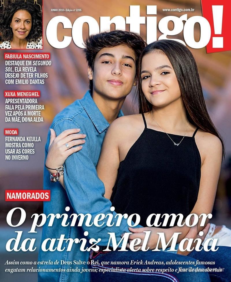 Capa da revista Contigo 18/06/2018
