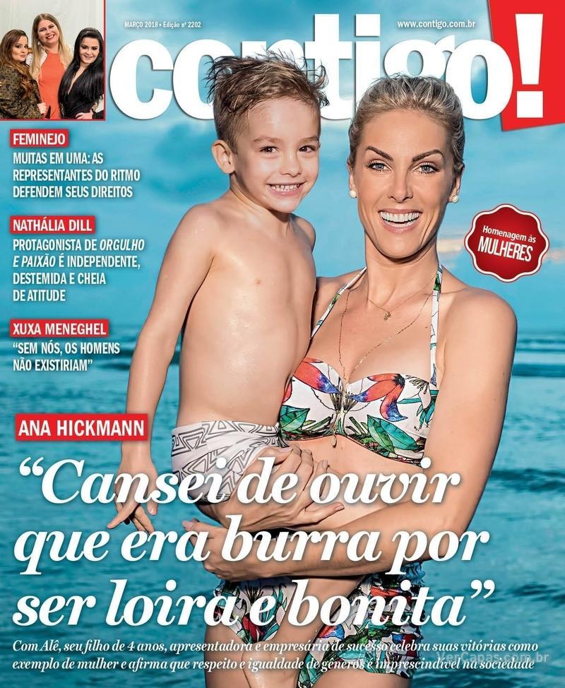 Capa da revista Contigo 15/03/2018