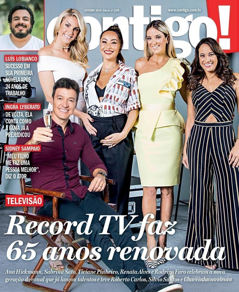 Capa revista Contigo 18/10/2018