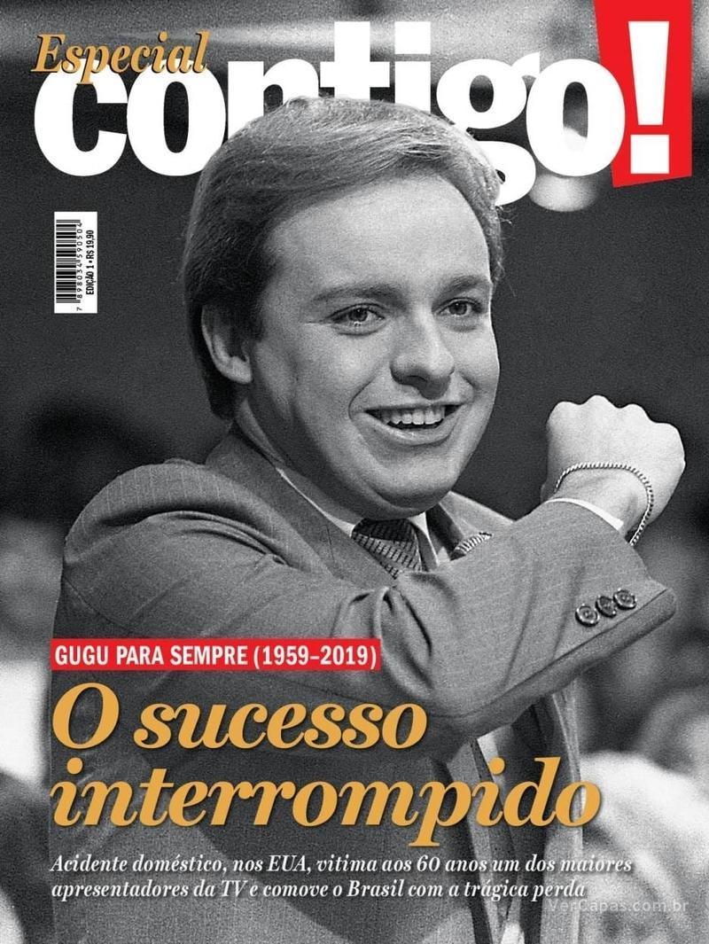 Capa da revista Contigo 03/12/2019
