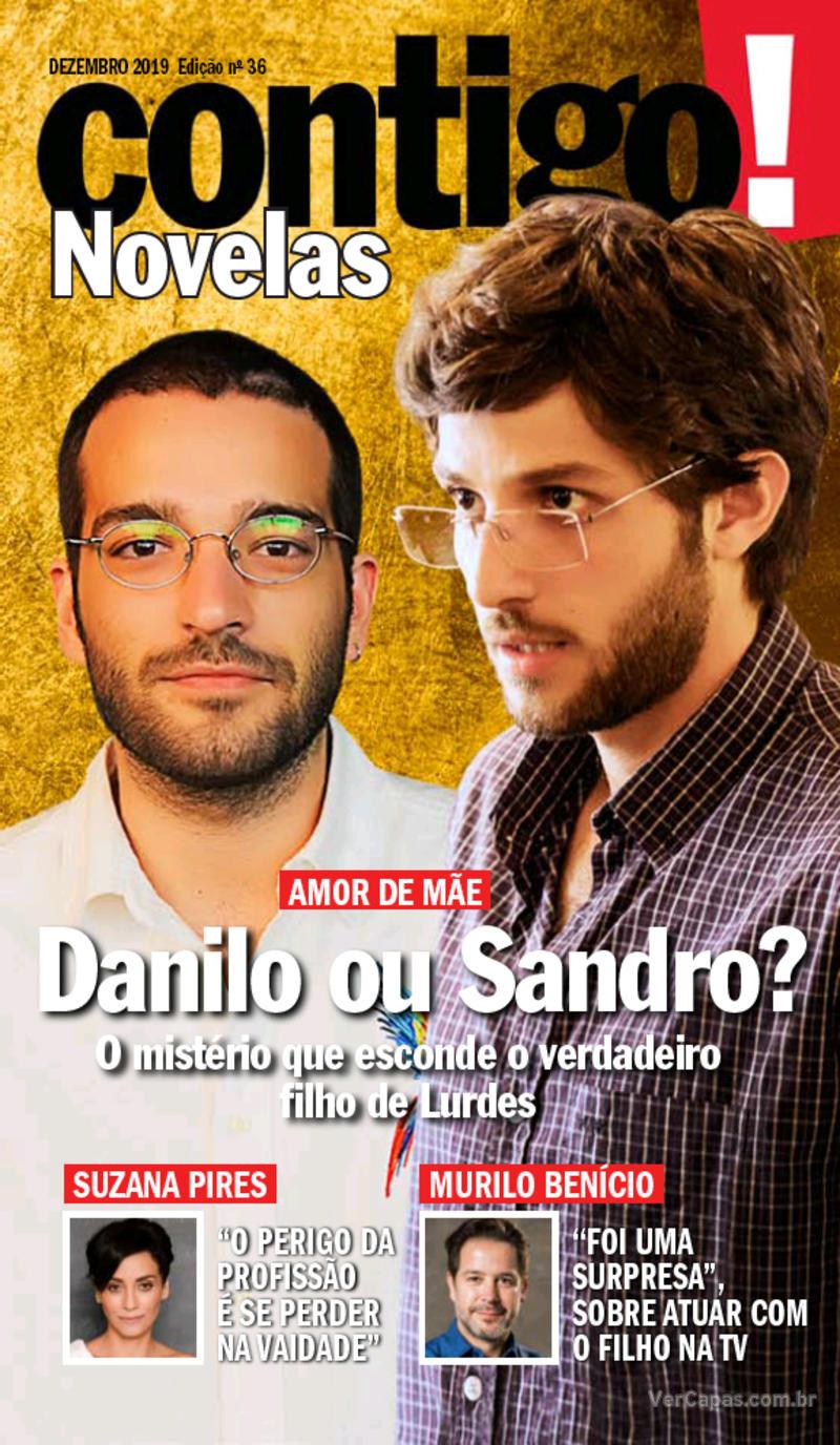 Capa revista Contigo 04/12/2019