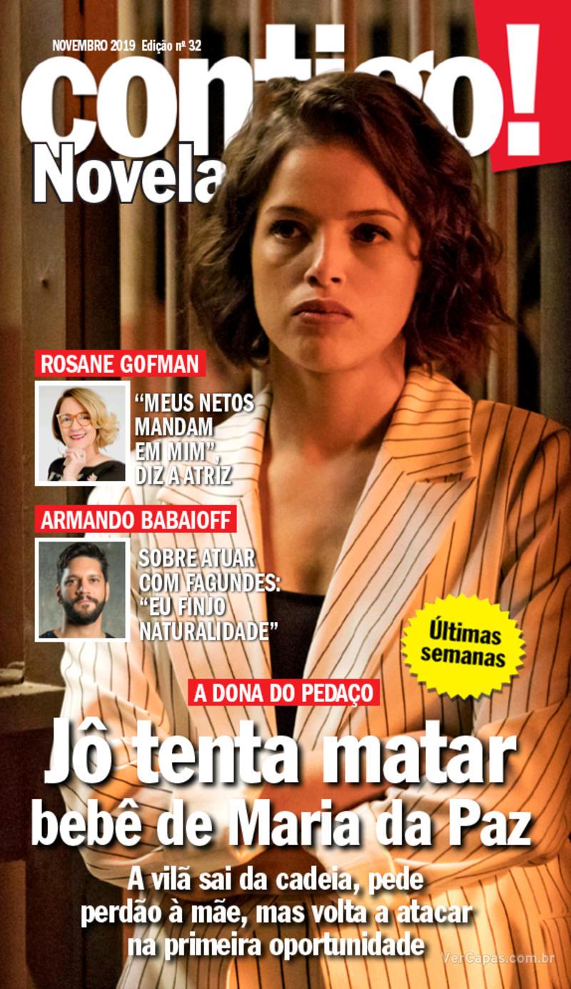 Capa da revista Contigo 13/11/2019