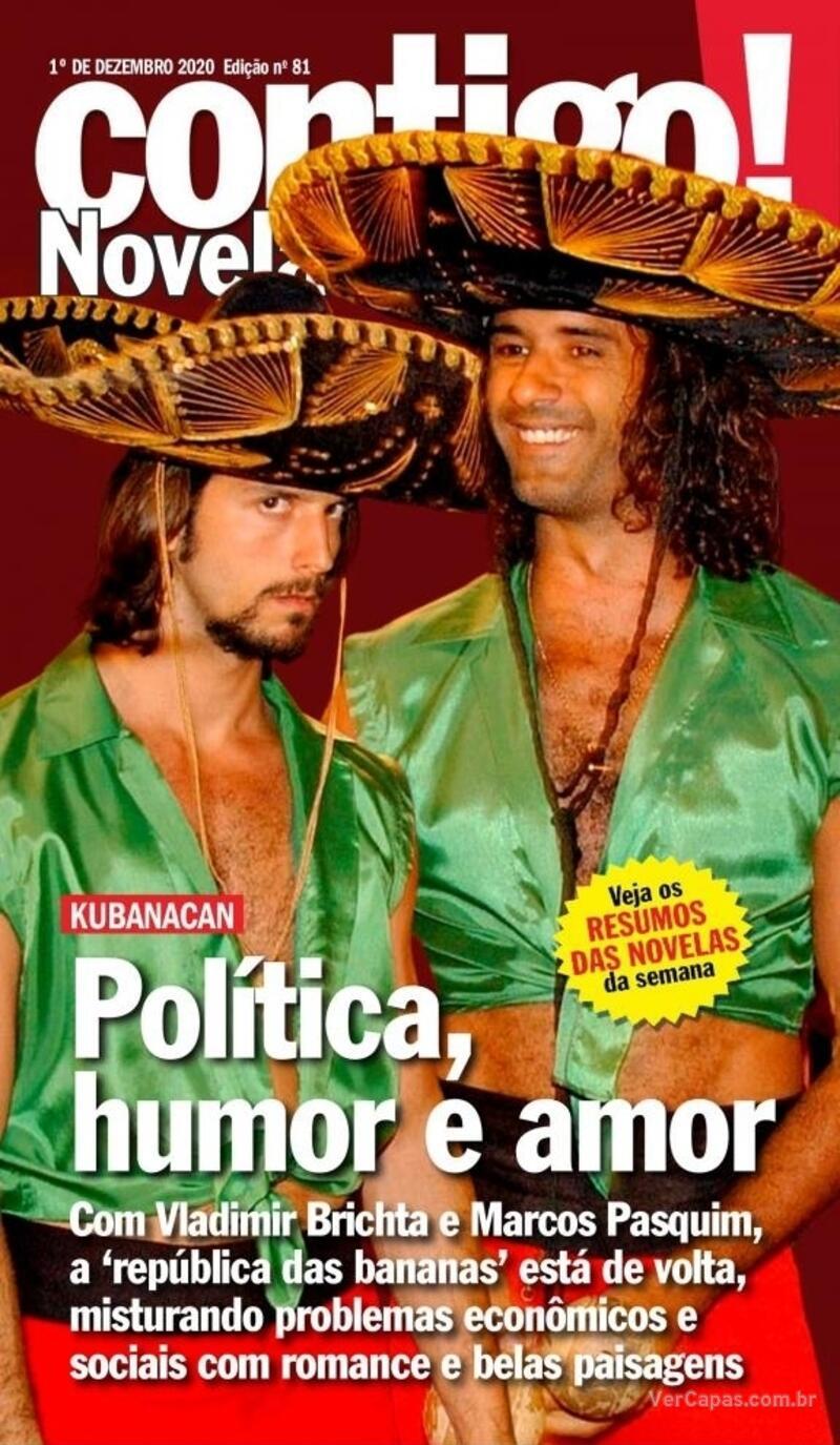Capa da revista Contigo 01/12/2020