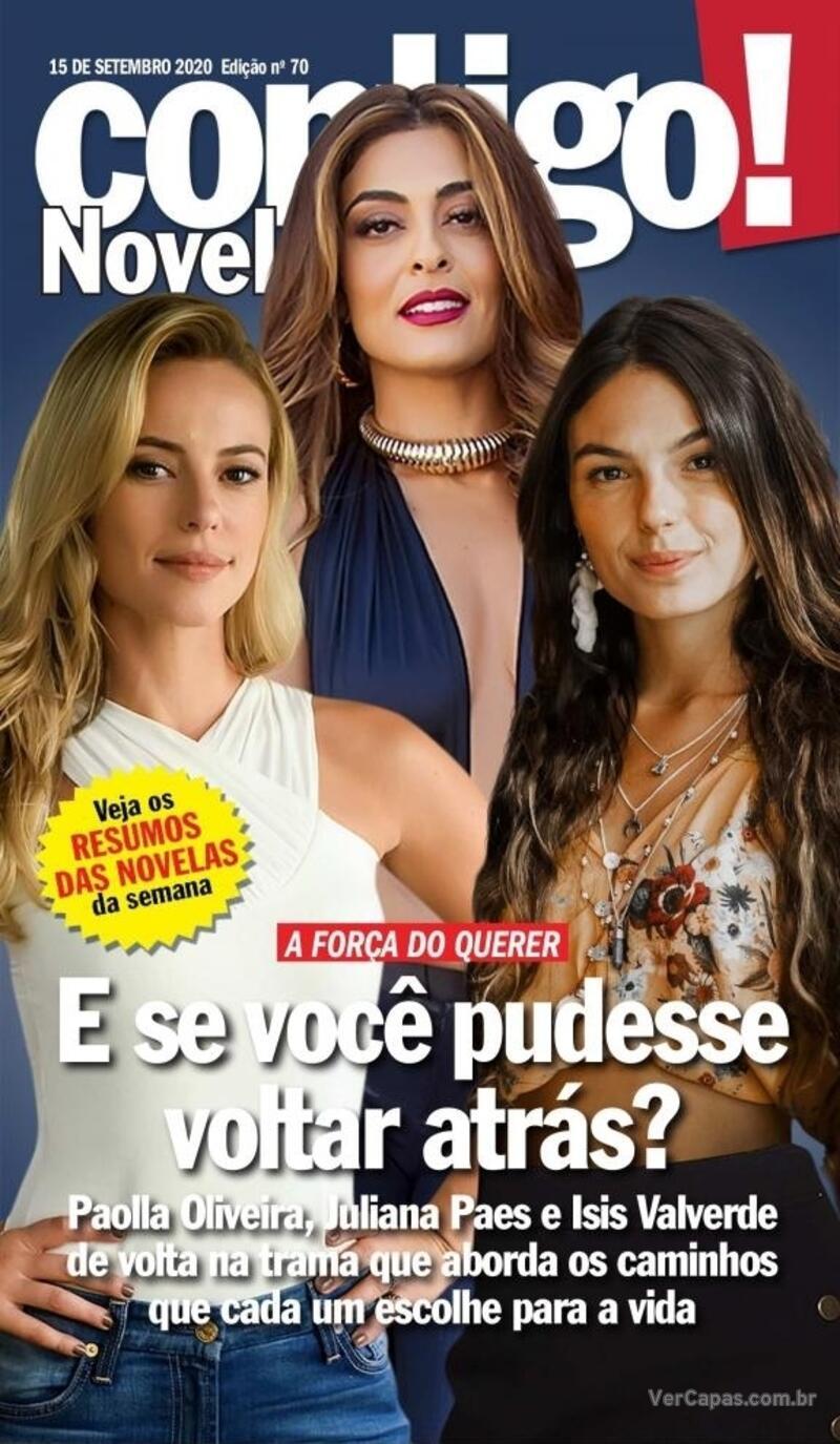 Capa da revista Contigo 15/09/2020