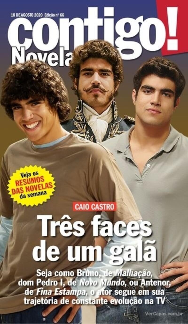 Capa da revista Contigo 18/08/2020