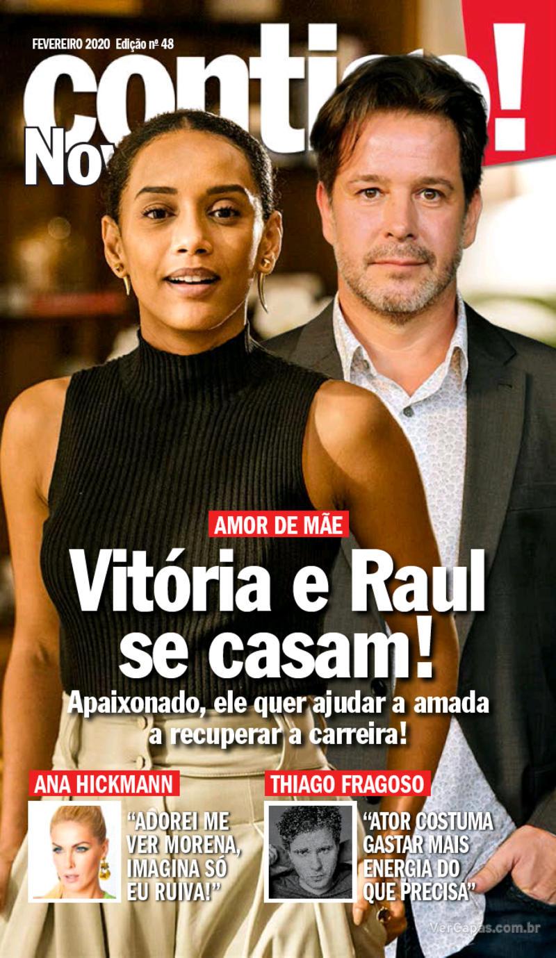 Capa da revista Contigo 26/02/2020