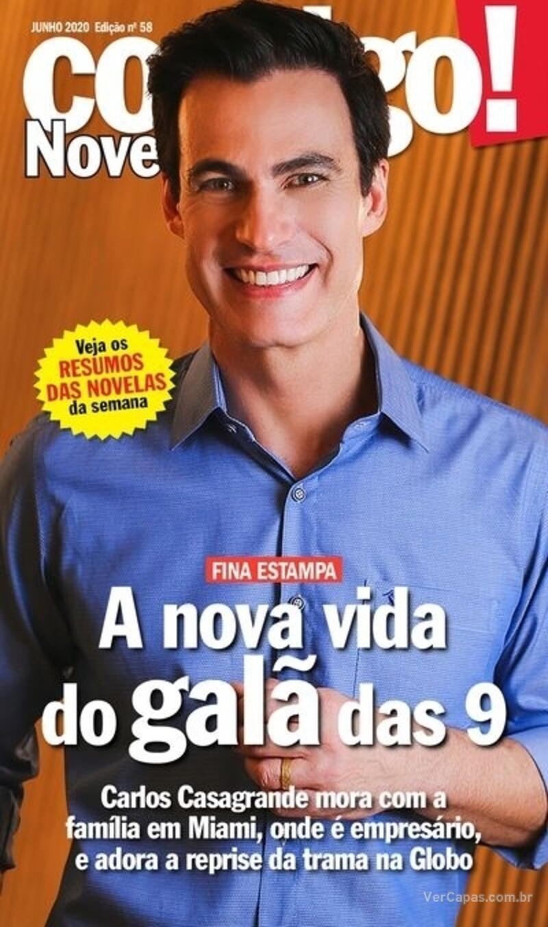 Capa da revista Contigo 30/06/2020