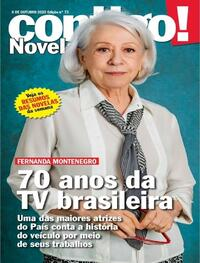 Capa da revista Contigo 06/10/2020