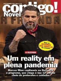 Capa da revista Contigo 08/09/2020
