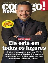 Capa da revista Contigo 11/08/2020