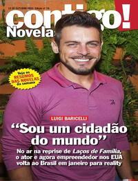 Capa da revista Contigo 13/10/2020