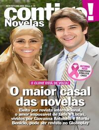 Capa da revista Contigo 20/10/2020