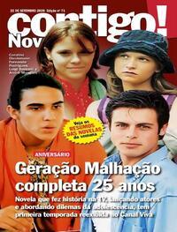 Capa da revista Contigo 22/09/2020