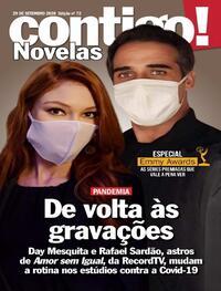 Capa da revista Contigo 29/09/2020