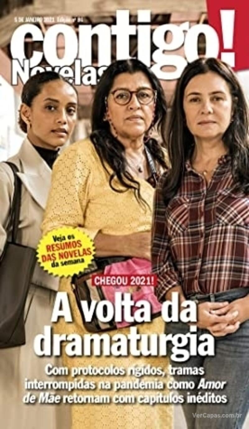 Capa da revista Contigo 12/01/2021