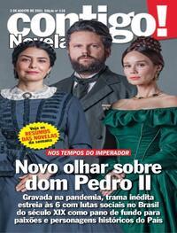 Capa da revista Contigo 03/08/2021