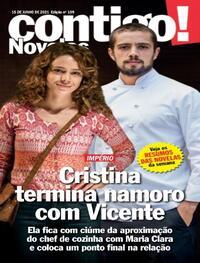 Capa da revista Contigo 15/06/2021