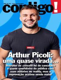 Capa da revista Contigo 27/04/2021
