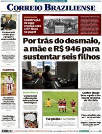 Capa Correio Braziliense 2017-11-20