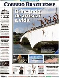Capa Correio Braziliense 2018-02-23