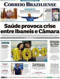 Capa Correio Braziliense 2019-01-19