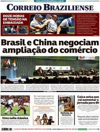 Capa Correio Braziliense 2019-11-14