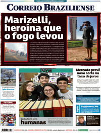 Capa Jornal Correio Braziliense