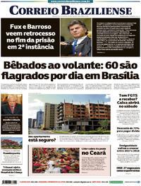 Capa Correio Braziliense 2019-10-17