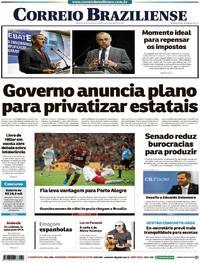 Capa Correio Braziliense 2019-08-22