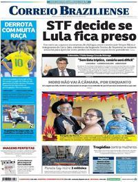 Capa Correio Braziliense 2019-06-24