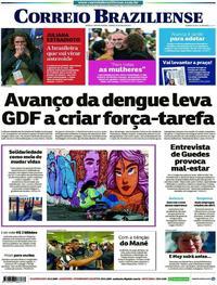 Capa Jornal Correio Braziliense 25/05/2019