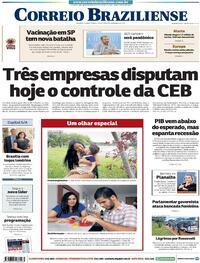 Capa do jornal Correio Braziliense 04/12/2020