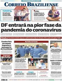 Capa do jornal Correio Braziliense 05/04/2020