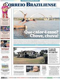 Capa do jornal Correio Braziliense 19/09/2020