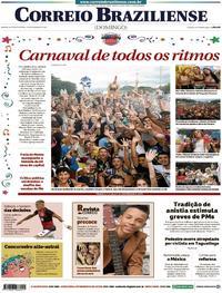 Capa Correio Braziliense 2020-02-23