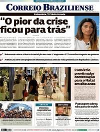 Capa do jornal Correio Braziliense 27/09/2021