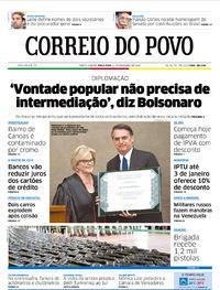 Capa Correio do Povo 2018-12-11