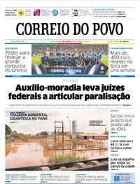 Capa Correio do Povo 2018-02-23
