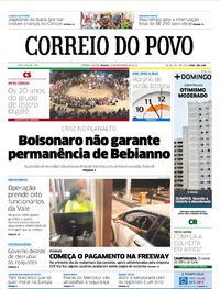 Capa Correio do Povo 2019-02-16