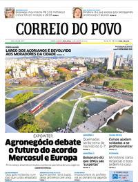 Capa Correio do Povo 2019-08-23