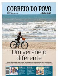 Capa do jornal Correio do Povo 01/11/2020