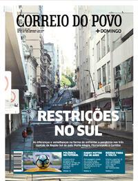 Capa do jornal Correio do Povo 02/08/2020
