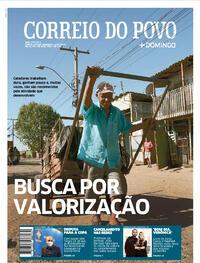 Capa do jornal Correio do Povo 04/10/2020