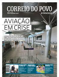 Capa do jornal Correio do Povo 05/04/2020