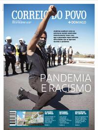 Capa do jornal Correio do Povo 05/07/2020