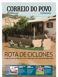 Capa do jornal Correio do Povo 09/08/2020