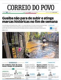 Capa do jornal Correio do Povo 11/07/2020