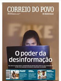 Capa do jornal Correio do Povo 11/10/2020