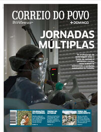 Capa do jornal Correio do Povo 12/07/2020