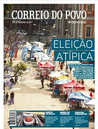 Capa do jornal Correio do Povo 15/11/2020